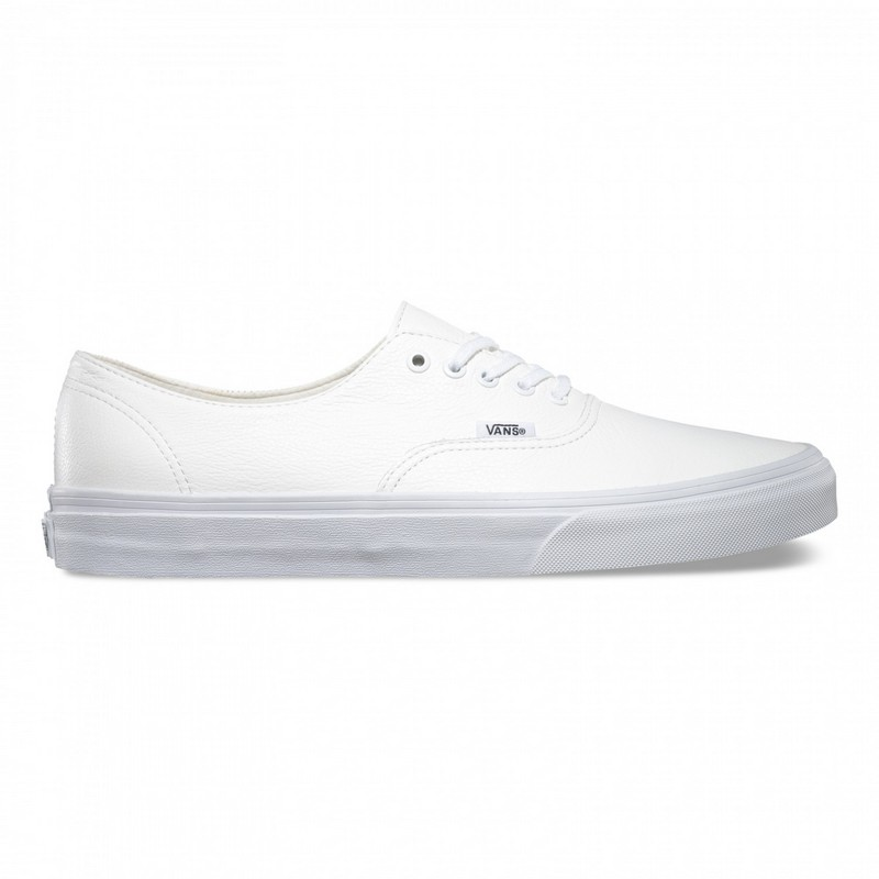 chaussure blanche cuir homme vans