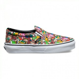 vans slip on fille