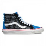 Magasin Chaussure Vans 50Th Sk8-Hi 38 Reissue Homme Multicolore