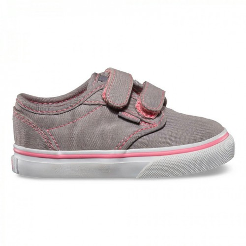 Magasin Vans Rose Chaussure V Atwood Toile Citron Fille Grise fO4qwpfF